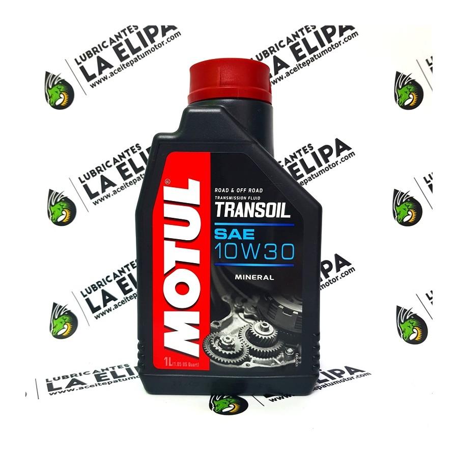 ACEITE DE MOTO MOTUL TRANSOIL SAE 10W30 1 LITRO