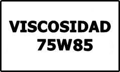 Viscosidad 75W85