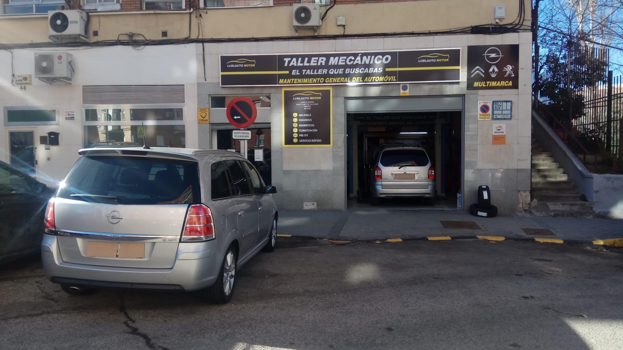 LUBLAUTO MOTOR MADRID