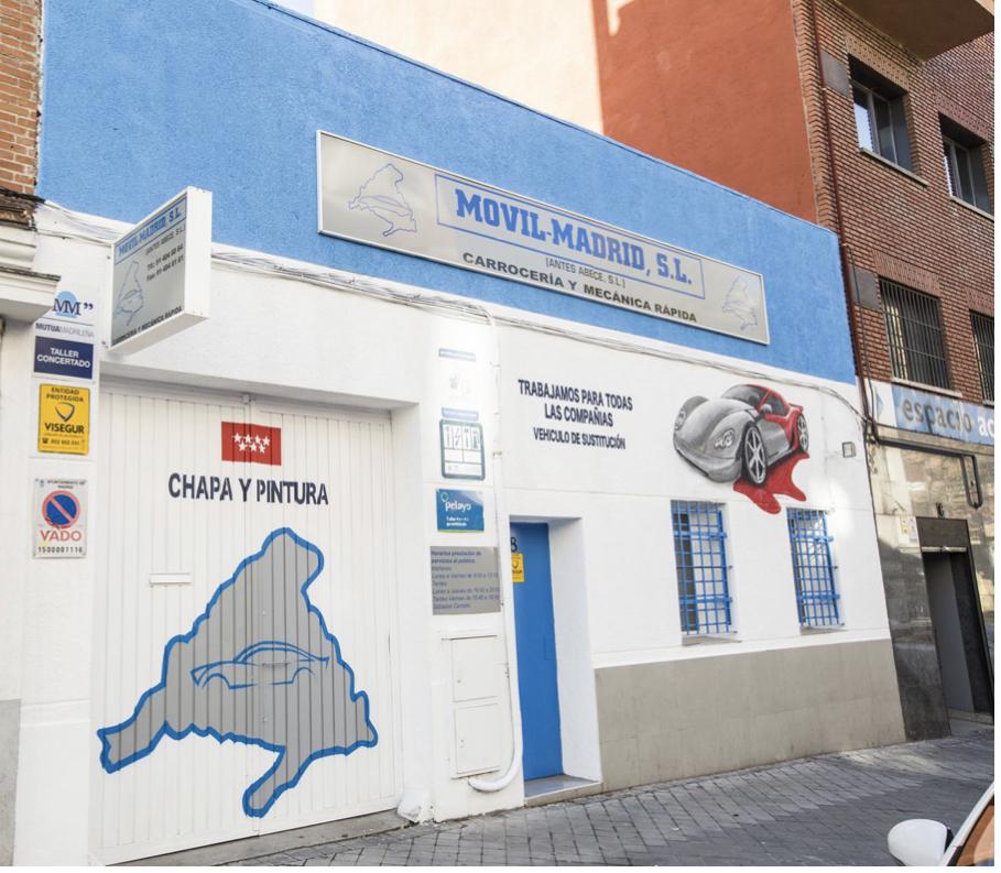 TALLER MÓVIL MADRID